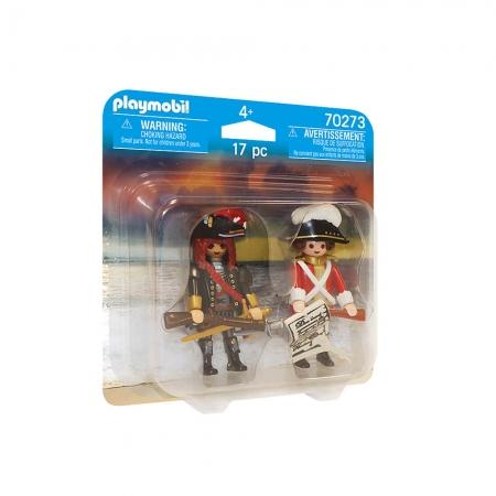 Playmobil - Pirata E Soldado Britânico