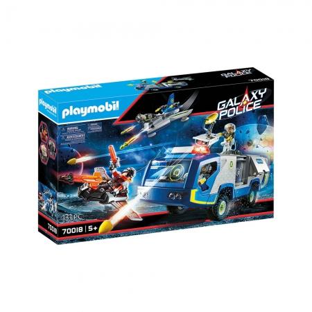 Playmobil - Polícia Galáctica Com Caminhão
