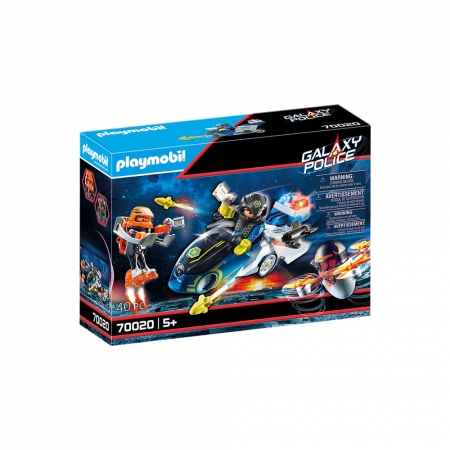 Playmobil - Polícia Galáctica com Moto