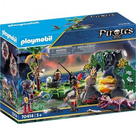 Playmobil - Refugio Dos Piratas