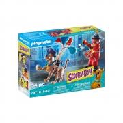 Playmobil - Scooby-Doo! Aventura Com O Palhaço Fantasma