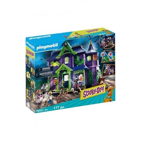 Playmobil - Scooby-Doo! Aventura Na Mansão Mistério