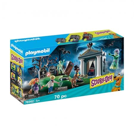 Playmobil - Scooby-Doo! Aventura No Cemitério