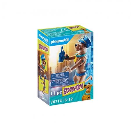 Playmobil - Scooby-Doo! Figura Colecionável Polícia