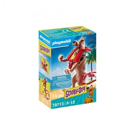 Playmobil - Scooby-Doo! Figura Colecionável Salva-Vidas