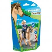 Playmobil - Soft Bag Cavalos - Polícia Montada