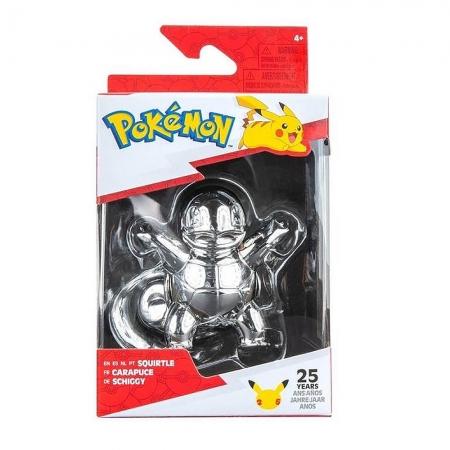 Pokemon - Celebrate Figuras de Batalha Prata - Squirtle