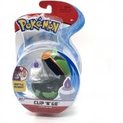 Pokémon - Clip De Pokébola - Litwick + Dusk Ball