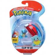 Pokémon - Clip De Pokébola - Squirtle + Poké Ball