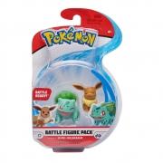 Pokémon - Figuras de Ação - EEVEE + BULBASAUR