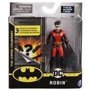 Batman - Figuras 10 Cm - Robin Vermelho