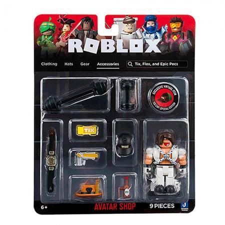 Roblox - Figuras Avatar Shop - Tix, Flex, and Epic Pecs