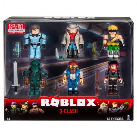 Roblox - Pack Com 6 Figuras-Modelo - Q-Clash
