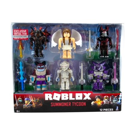 Roblox - Pack Com 6 Figuras-Modelo - Summoner Tycoon