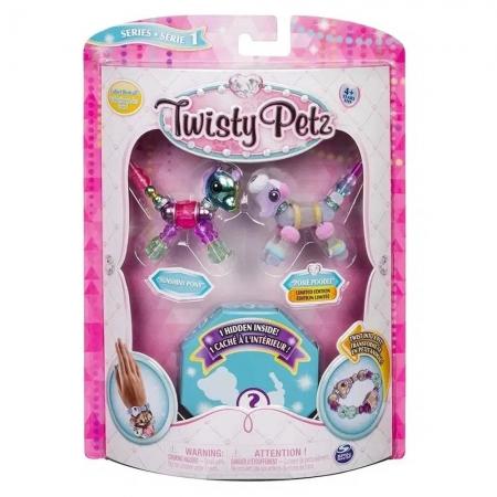Twisty Petz - Sunshiny Pony E Posie Poodle - Sunny