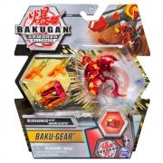 Bakugan - Ultra Bakugan Com Kit De Batalha - Dragonoid