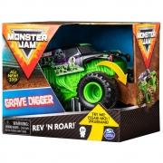 Monster Jam - Escala 1:43 - Veículo Monster Jam - Grave Digger