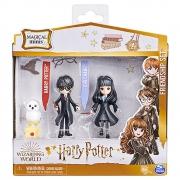 Harry Potter - PACK DA AMIZADE AMULETOS MAGICOS HARRY E CHO
