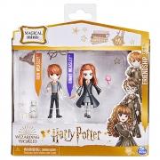 Harry Potter - PACK DA AMIZADE AMULETOS MAGICOS RONY E GINA