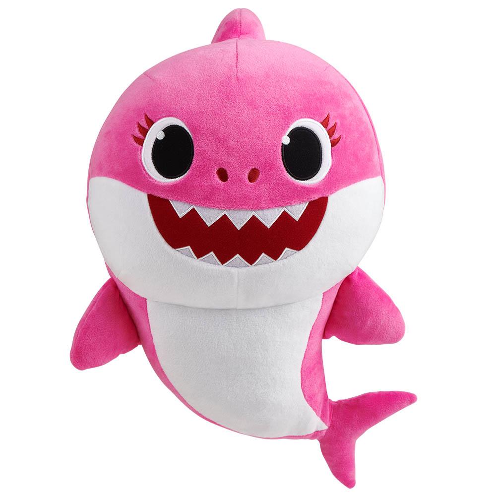 Baby Shark - Pelúcia de 20 cm com Música - MOMMY