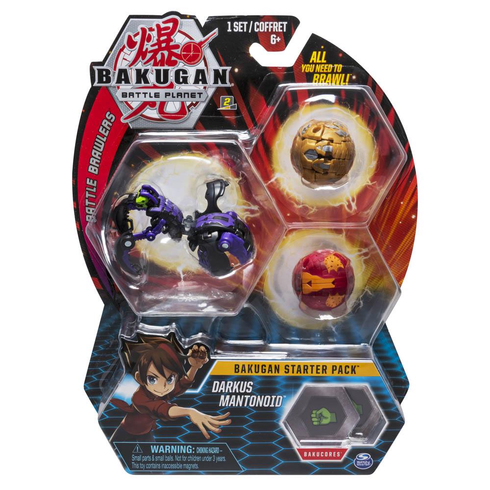 Bakugan - Pack Esfera - Darkus Mantonoid