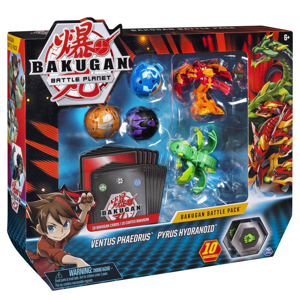 Bakugan - Batalha Bakugan - Ventus Phaedrus & Pyrus Hydranoid