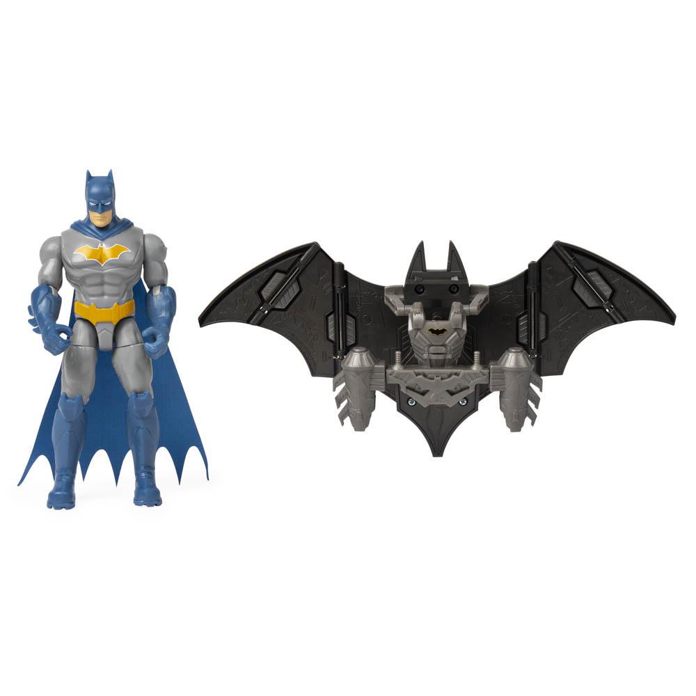 Batman - Figura De Luxo 10 Cm Com Armadura