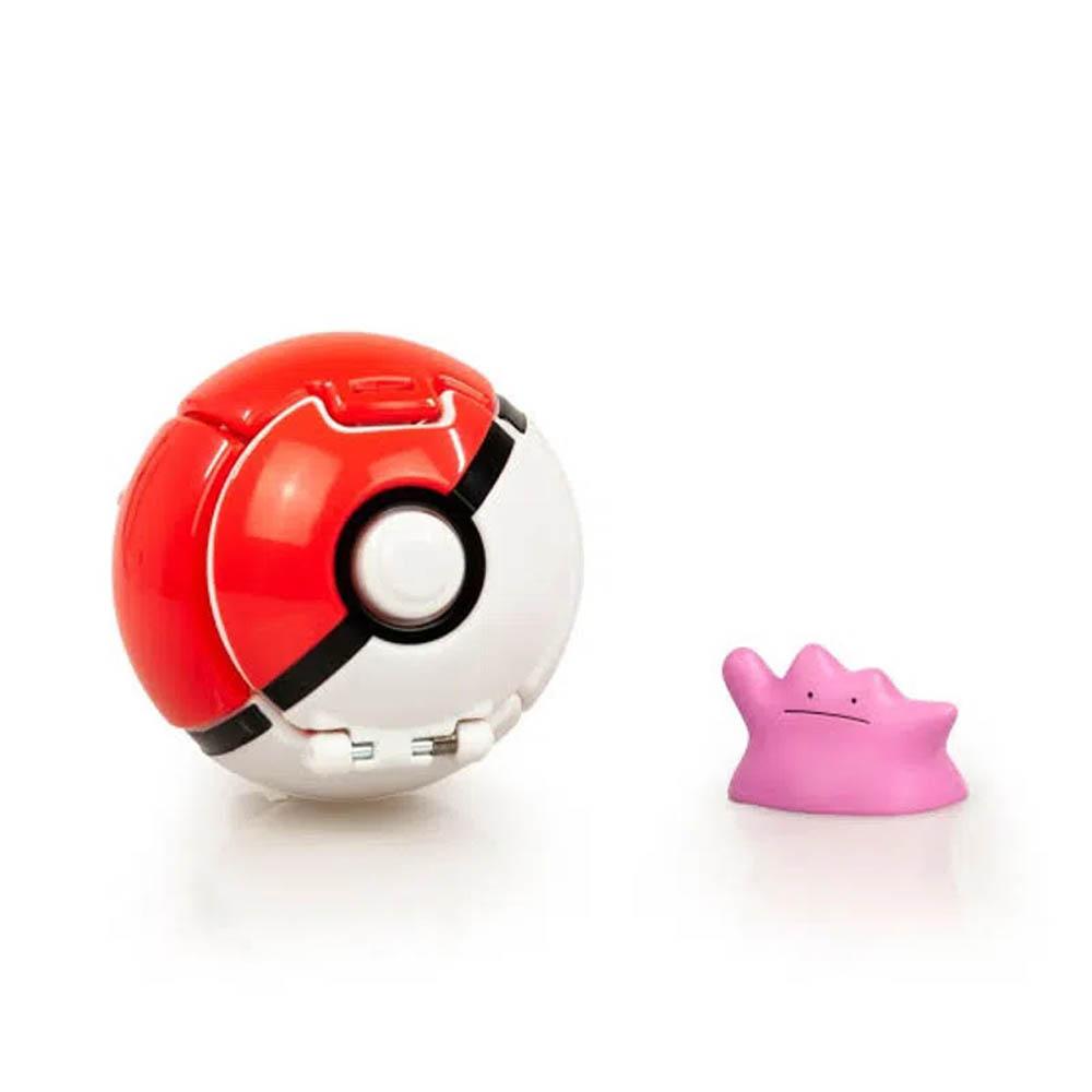Pokémon - Conjunto De Pokébolas - Ditto + Pokébola