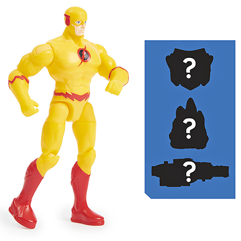 Dc - Figuras De 10 Cm - 2189 Flash Reverso