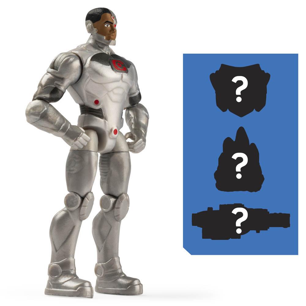 Dc - Figuras 10 Cm - Cyborg
