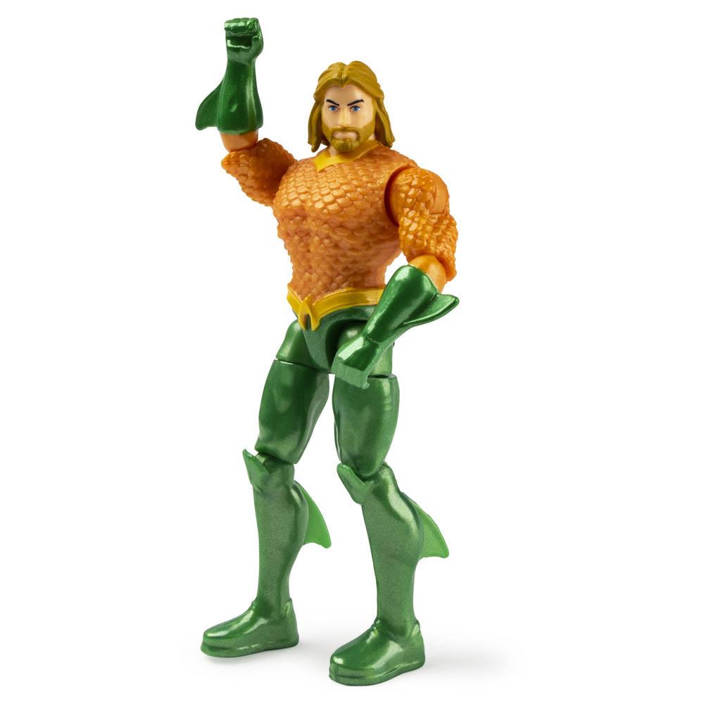 Dc - Figuras 10 Cm Com Vilão Aquaman / Black Manta