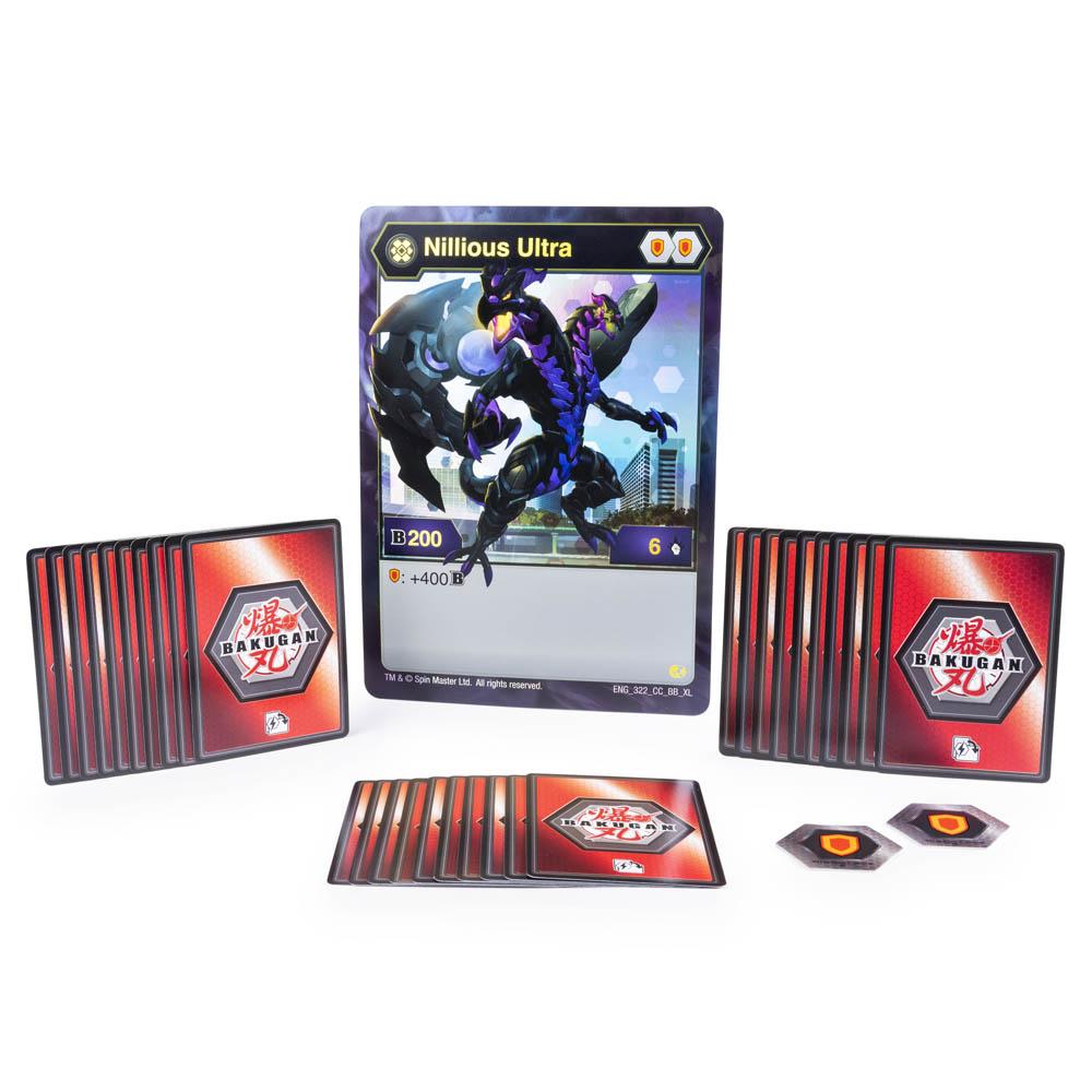 Bakugan - Deck De Batalha Bakugan - Nillious Ultra