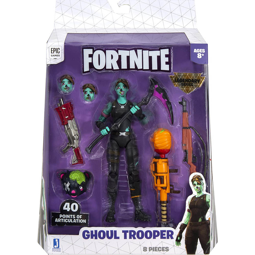 Fortnite - Legendários - Figuras 15 Cm - Ghoul Tropper