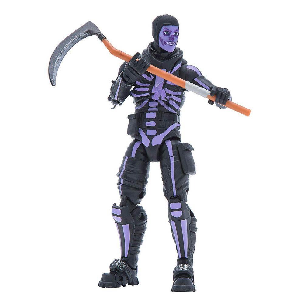 Fortnite - Legendários - Figuras 15 Cm - Skull Tropper - Purple Grow