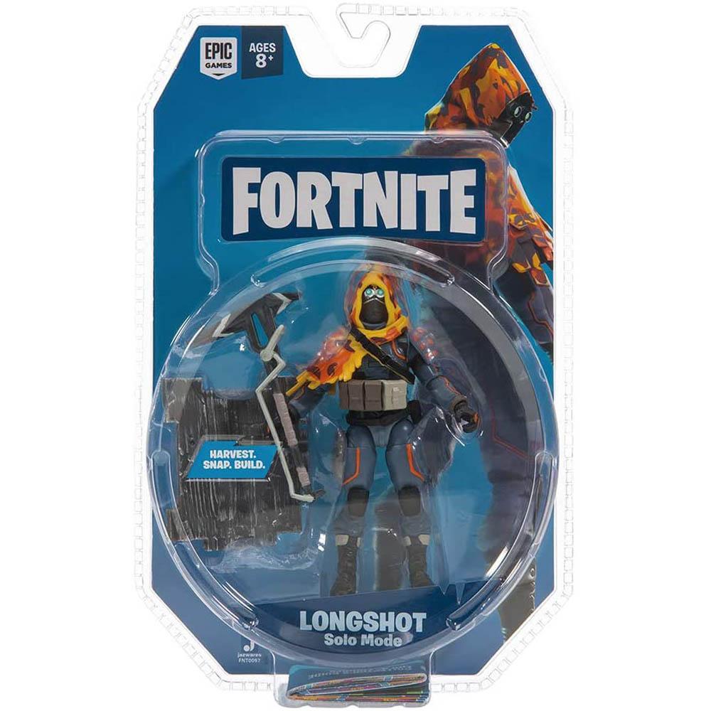 Fortnite - Figura De Ação 10 Cm - Long Shot