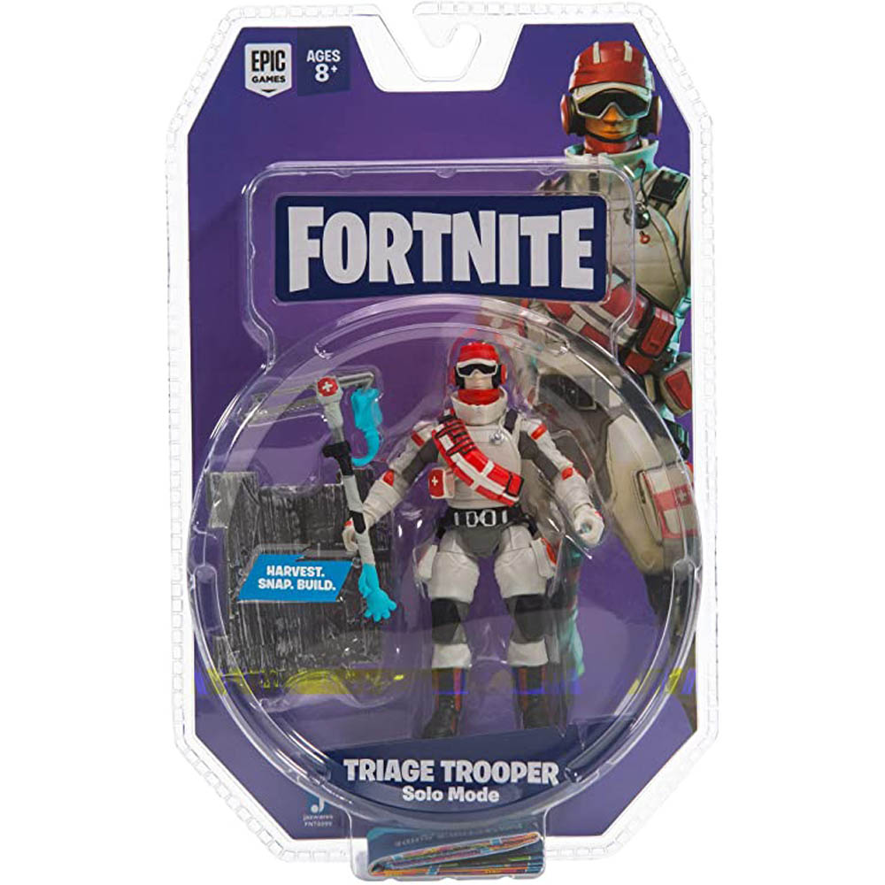 Fortnite - Figura De Ação 10 Cm - Triage Trooper