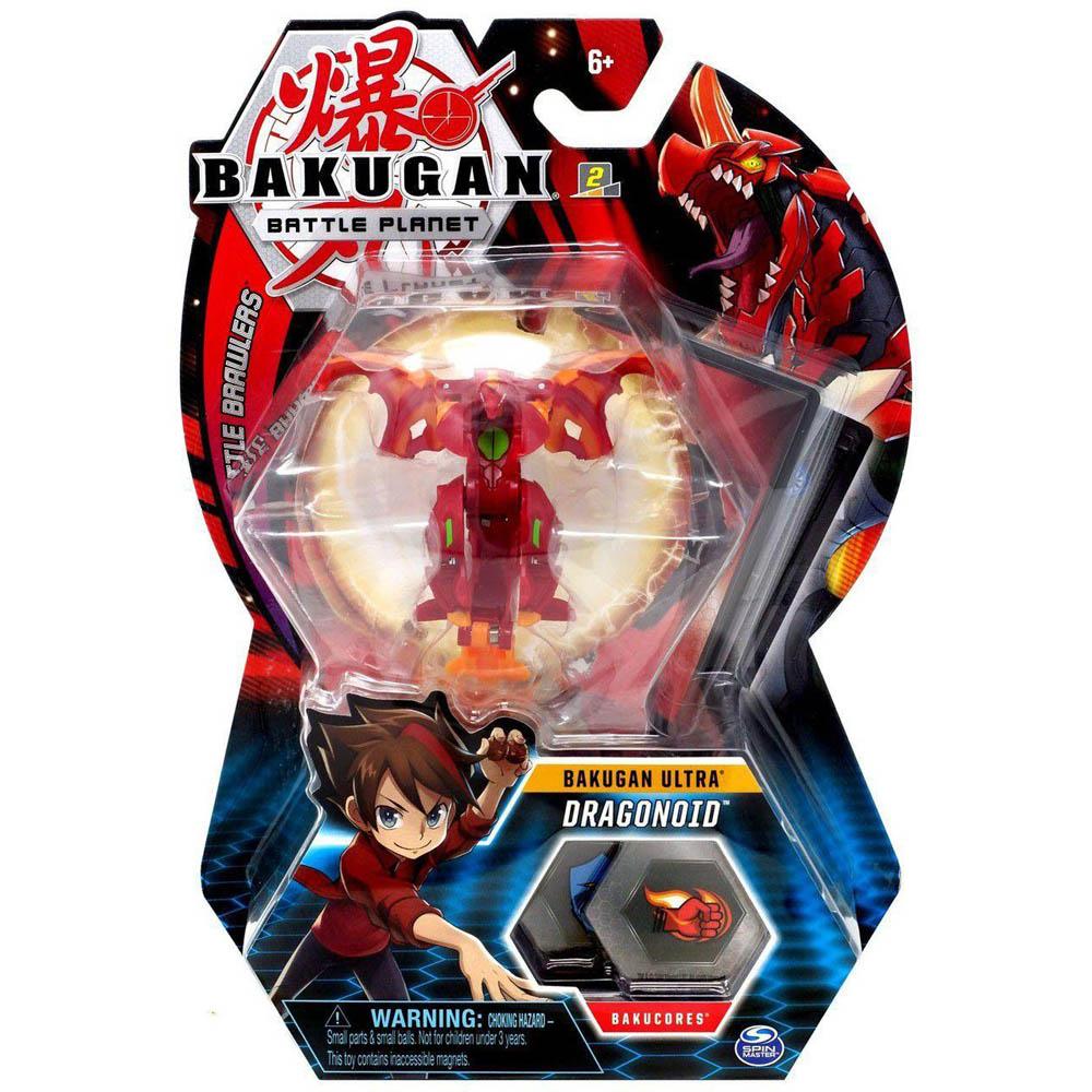 Bakugan - Figura De Batalha Deluxe - Dragonoid
