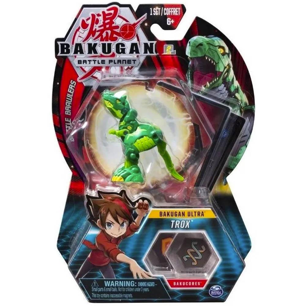 Bakugan - Figura De Batalha Deluxe - Trox