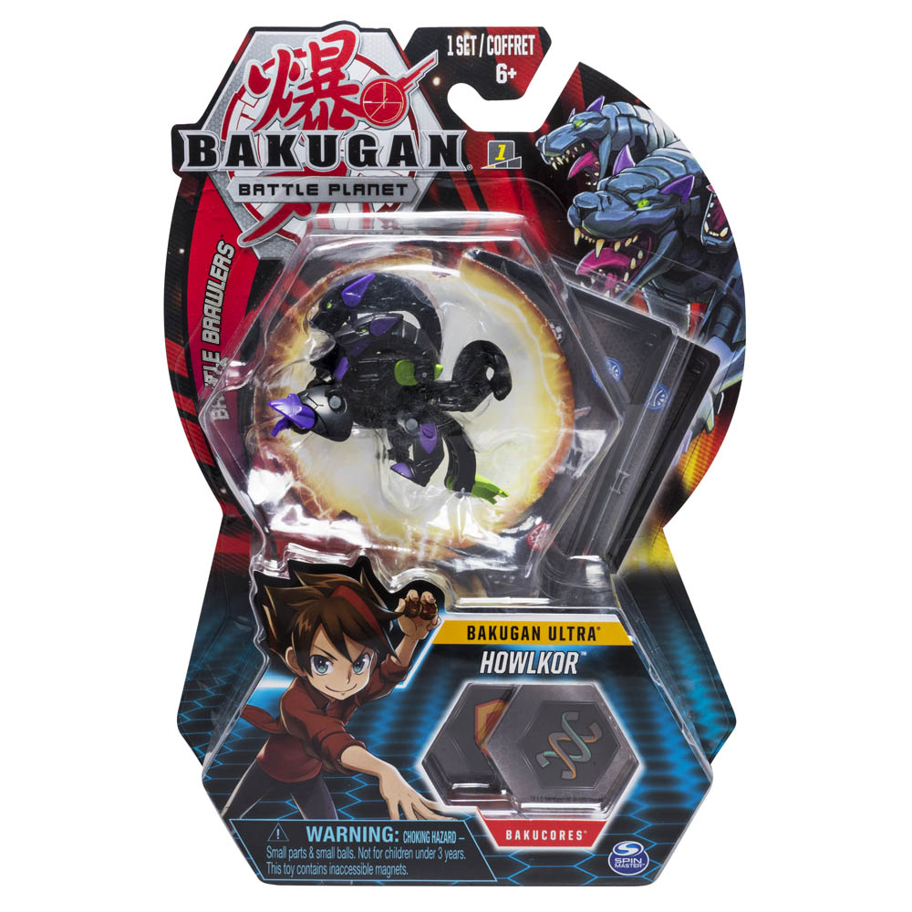 Bakugan - Figura De Batalha Deluxe - Ultra Howlkor