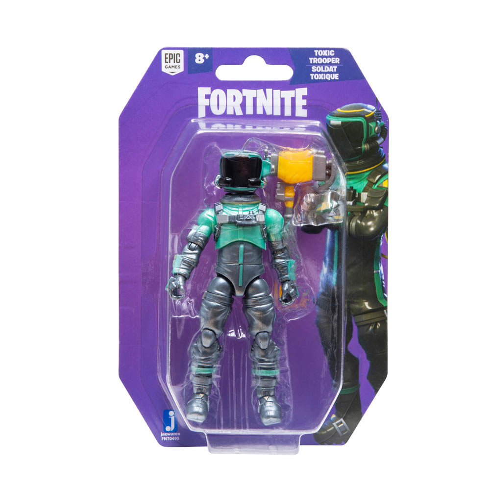 Fortnite - Pack Com 1 Figura De 10 Cm - Toxic Tropper