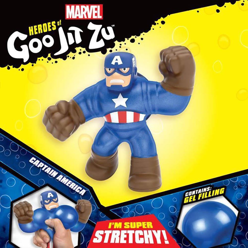 Goo Jit Zu - Pack Com 1 Figura - Capitão América