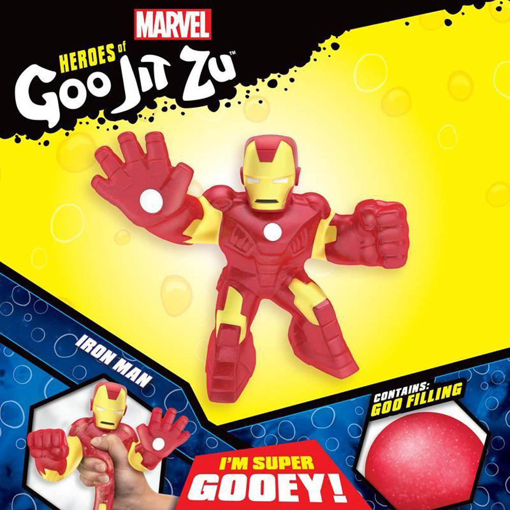 Goo Jit Zu - Pack Com 1 Figura - Homem De Ferro