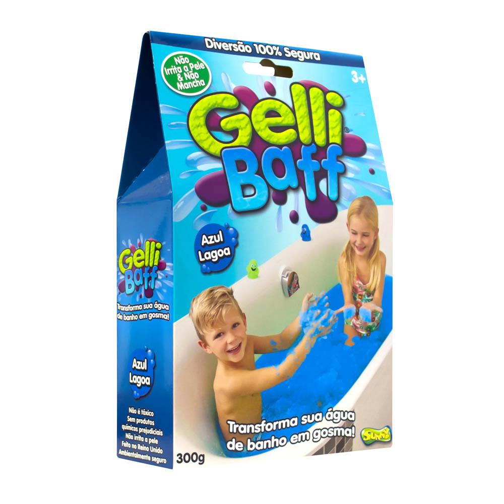 Gosma Pegajosa - Gelli Baff 300 G - Azul Lagoa