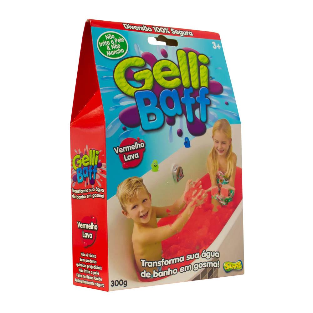 Gosma Pegajosa - Gelli Baff 300 G - Vermelho Lava