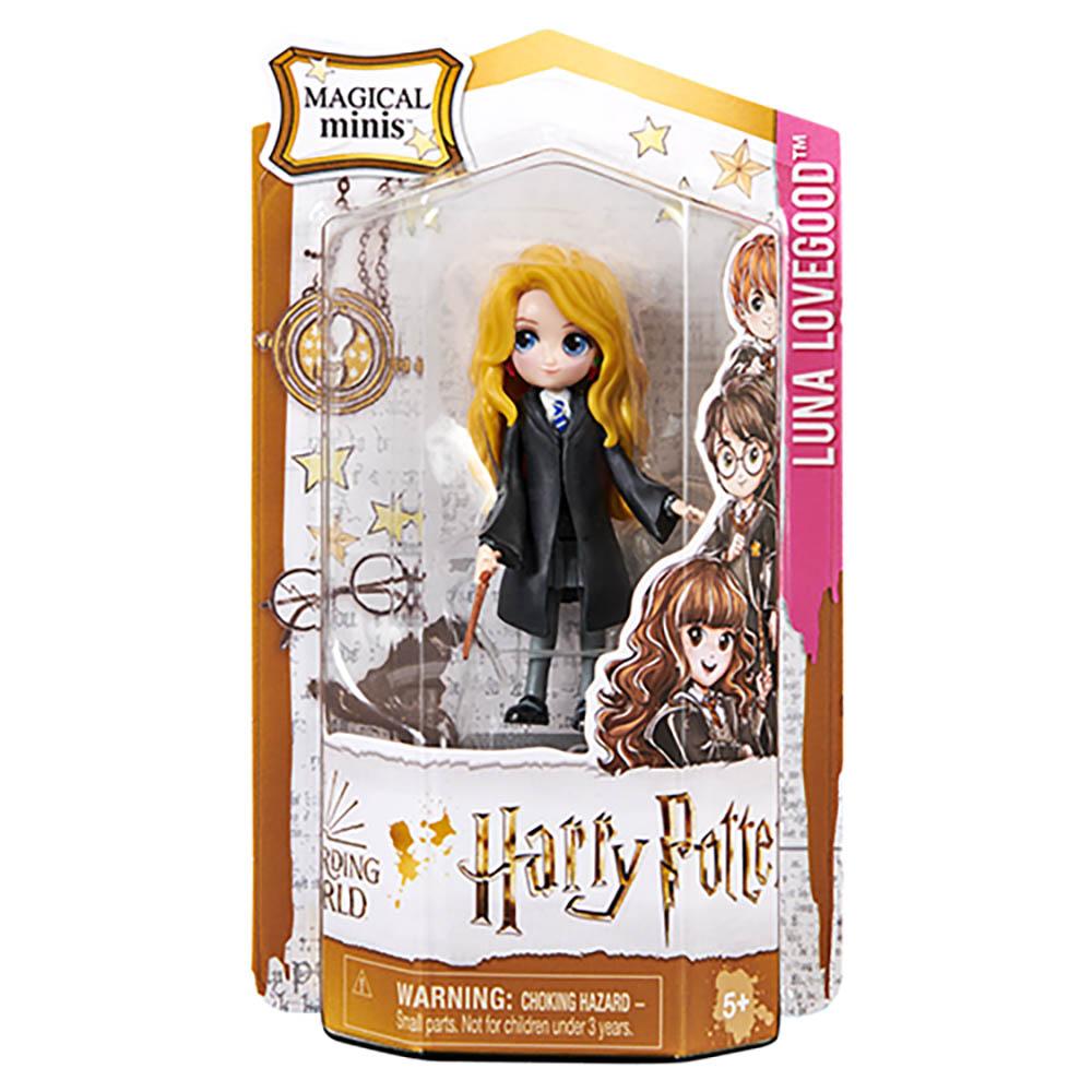 Harry Potter - Bonecos Amuletos Mágicos - Luna Lovegood