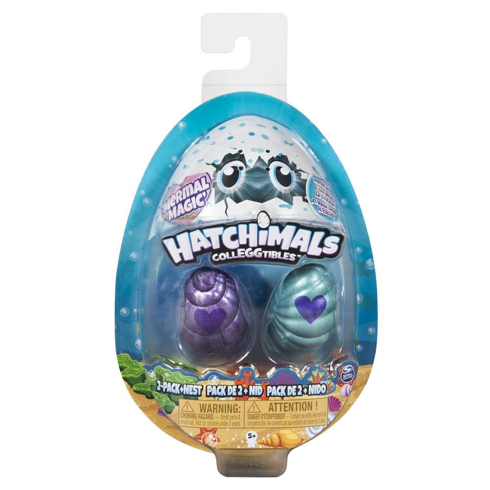 Hatchimals - Colleggtibles - Blister Com 2 Peças - Série 5 - Ovinho Verde E Roxo