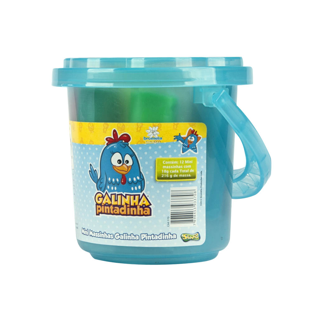 Ki-Massa Galinha Pintadinha - Minibalde Azul
