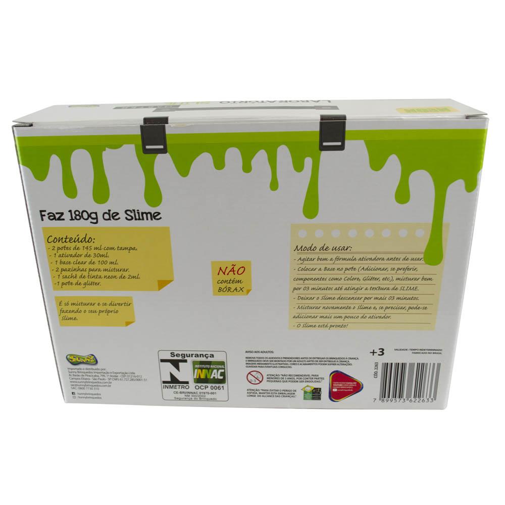 Master Laboratório Slime - Faz 180 G De Slime