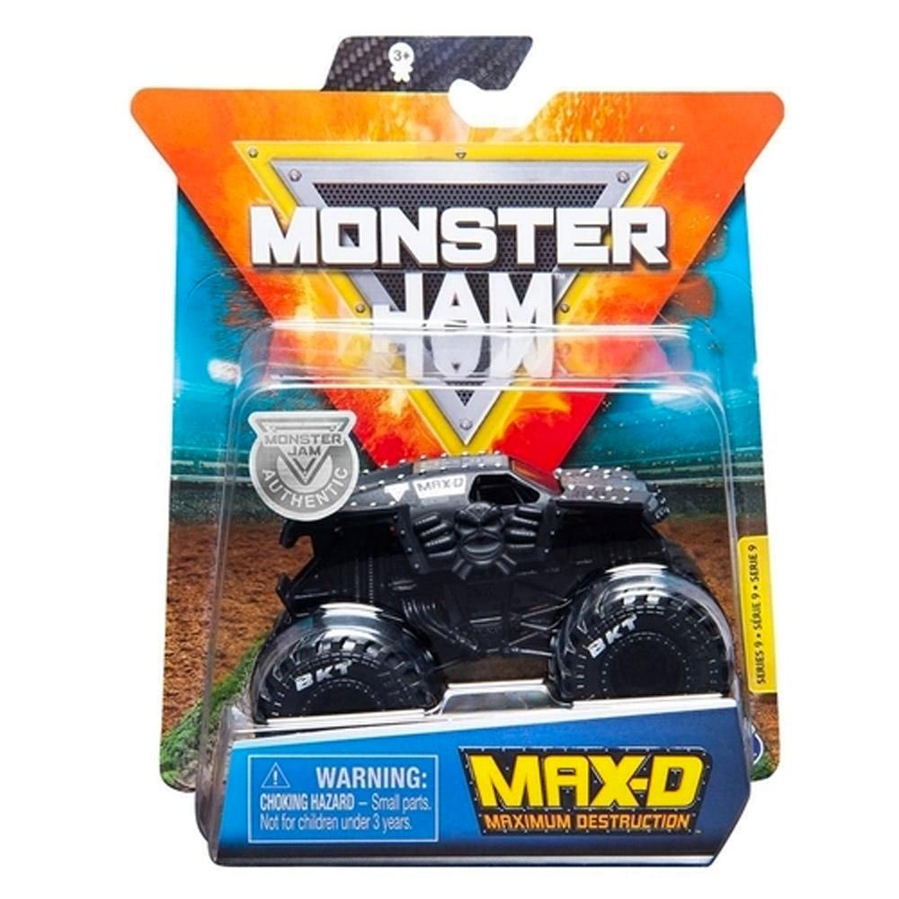 Monster Jam - Escala 1:64 - Miniveículo Monster Jam - Max-D