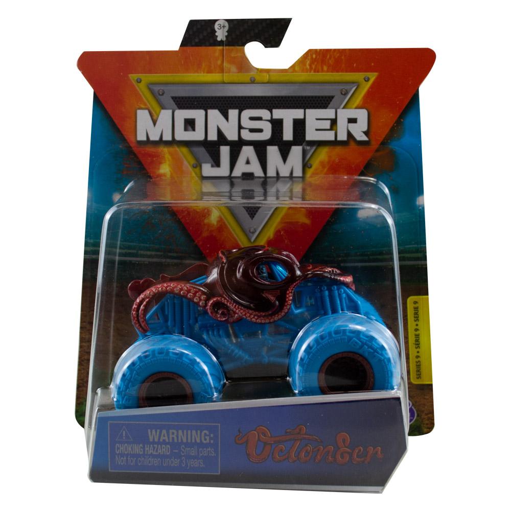 Monster Jam - Escala 1:64 - Miniveículo Monster Jam - Octoner